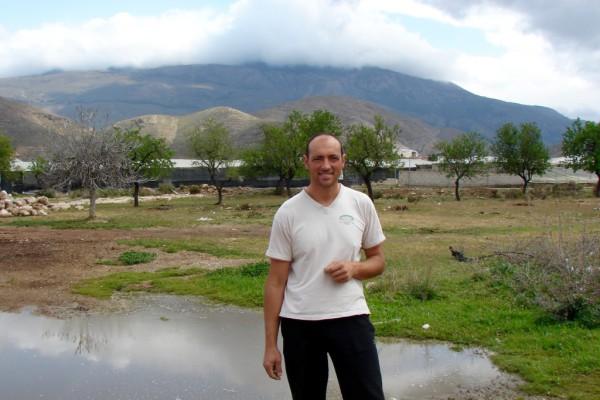 Pedro Prados, 40 años y la mitad dedicados a la agricultura