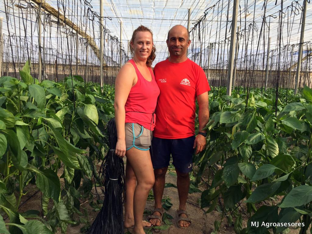 Brigida y Daniel, una pareja 'ecológica' en la vida, y en el campo