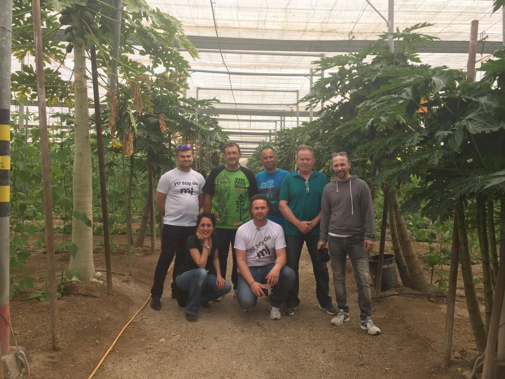 agricultores ecológicos en Almería