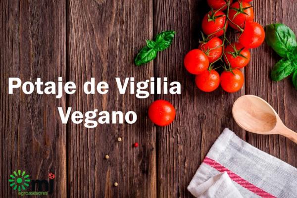 potaje de vigilia vegano