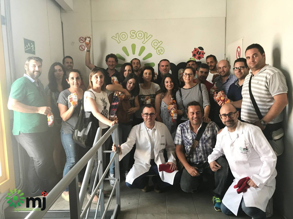 visita a MJ Agroasesores curso IFAPA