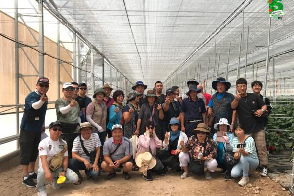 agricultores koreanos